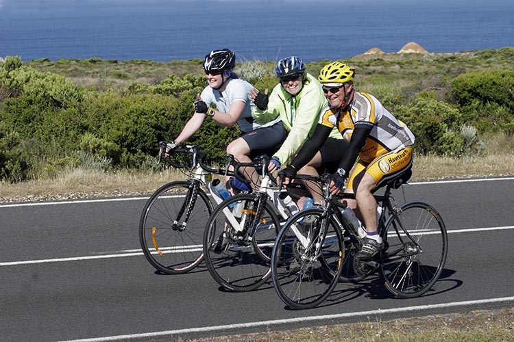 Cyclists ranging in ages from under ten to over 80 are expected to join the RACV Great Victorian Bike Ride!