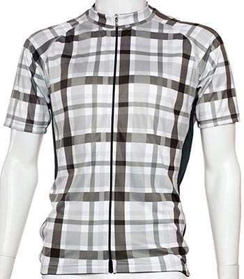 I tried this plaid BELCH cycling jersey, and found that it came through on all the promises BELCH made