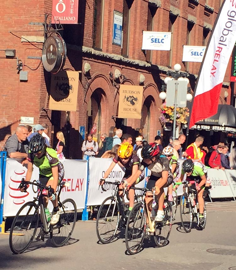 The annual Gastown Grand Prix is held on the cobbled streets of downtown Vancouver BC Superweek 2017