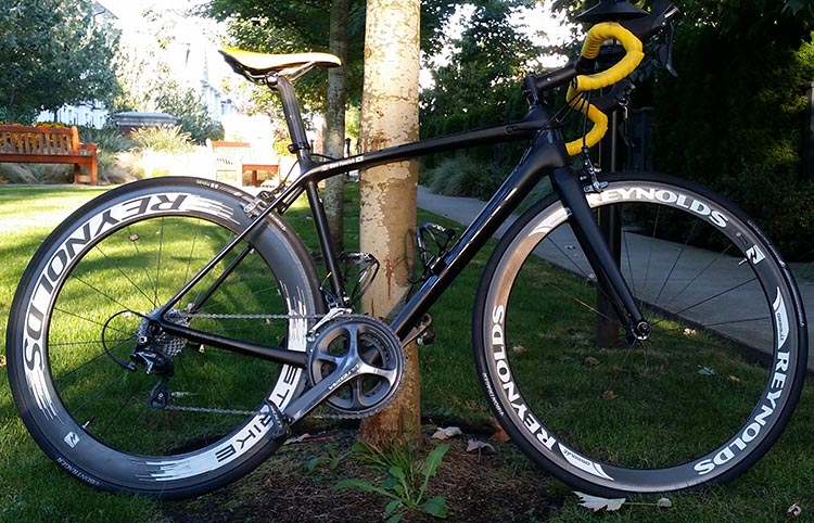 The beautiful Trek Emonda SL bike that Matt Fenrich will use to complete the BC Ride To Conquer Cancer