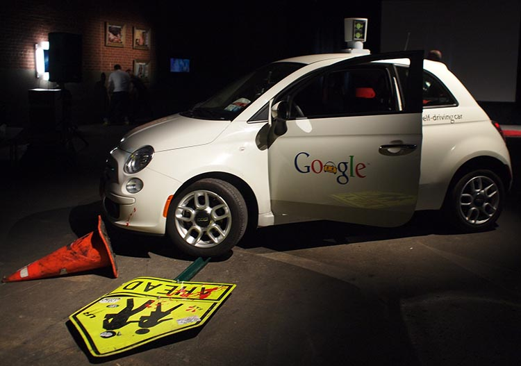 Will self driving cars endanger human lives? Photo by Becky Stern, Flickr Creative Commons