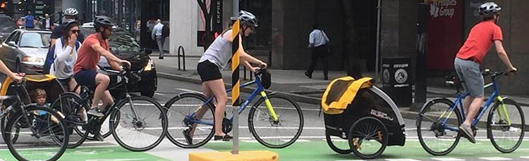 7 of the Best and Safest Baby and Child Bike Seats, with Reviews and Videos - 2019. It's great to see parents transporting their kids on bikes! I spotted these families on the separated bike lanes in downtown Vancouver