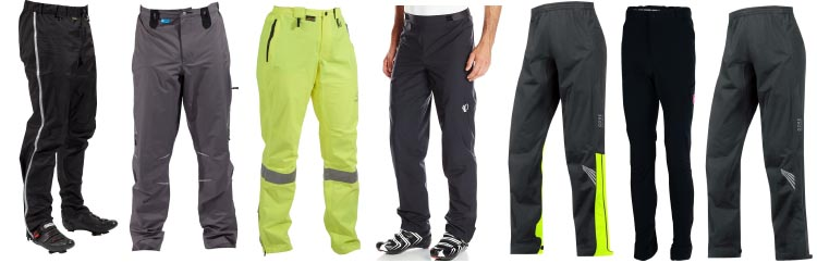 6 of the Best Waterproof Cycling Pants