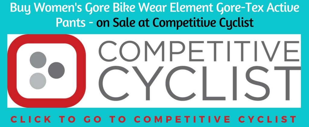 Buy Women's Gore Bike Wear Element Gore-Tex Active Pants at Competitive Cyclist