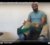 Video: 3 Simple Exercises for Cycling Knee Pain