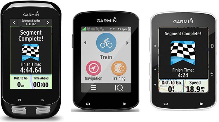 Garmin Edge 1000 vs 820 vs 520 Bike Computers