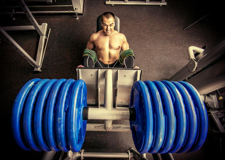 Strength training offers a few benefits that endurance sports cannot, including an increase in testosterone. Focus your workouts on those big leg muscles if you are serious about a testosterone boost