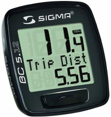 Sigma Sport BC5.12 Wired Bicycle Computer