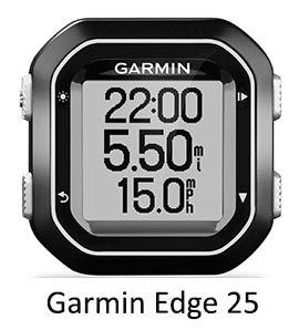 The Garmin Edge 25 is a powerful bike computer in a lightweight package. Garmin Edge 25 review
