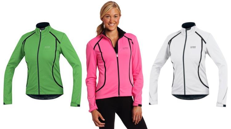 Gore Bike Wear Women's Oxygen SO windproof cycling jacket. 7 of the best women's cycling jackets