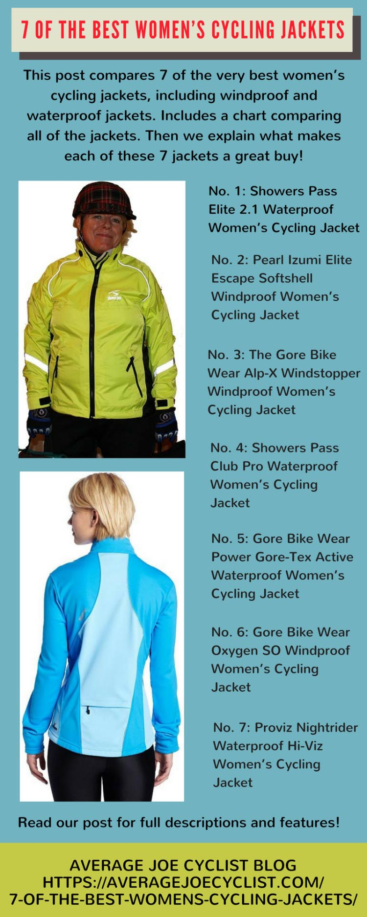 7 of the best womens cycling jackets