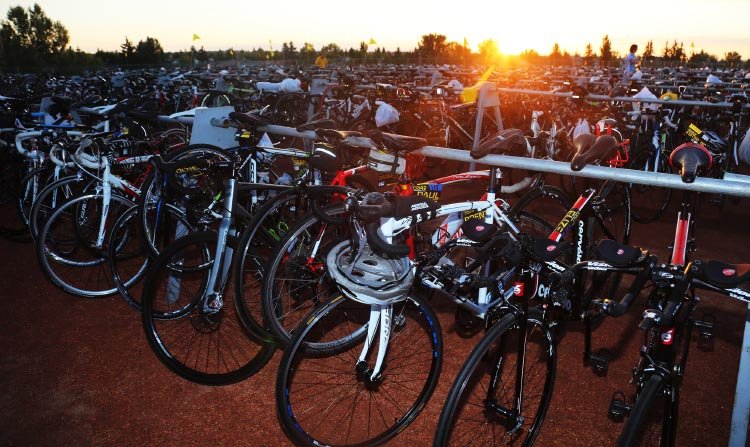 Thousands of bikes await riders of every kind, all with one thing in common - a desire to fight against the scourge of cancer