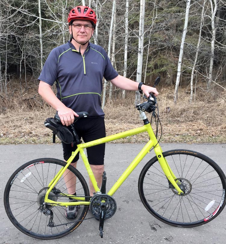 Ken Schulzke is doing the the Enbridge Ride to Conquer Cancer for the very first time this August