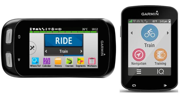 Garmin Edge 1000 vs 820 GPS Bike Computers