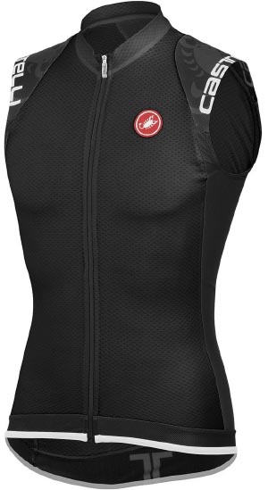 Castelli Entrata Full-Zip Sleeveless Cycling Jersey