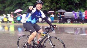 David Marchione prepares for his 5th Ride to Conquer Cancer!