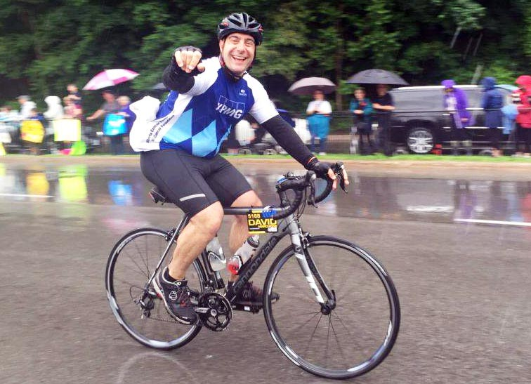 Ontario's David Marchione is gearing up for his FIFTH Ride to Conquer Cancer! Go David!