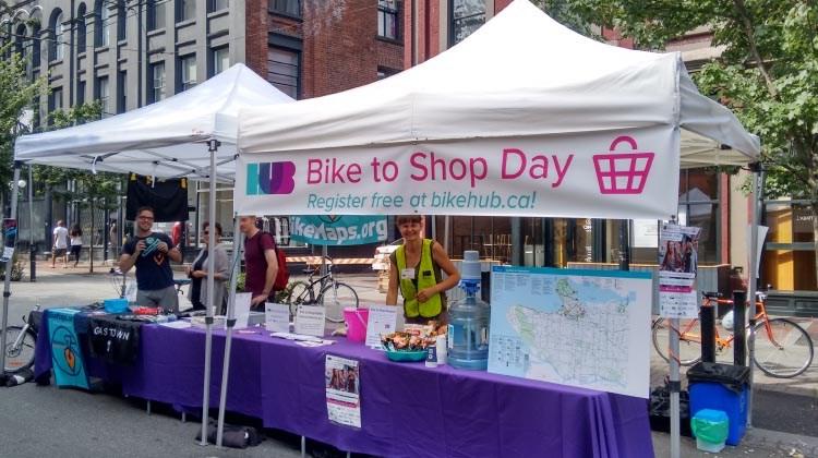 Bike to Shop day HUB Cycling