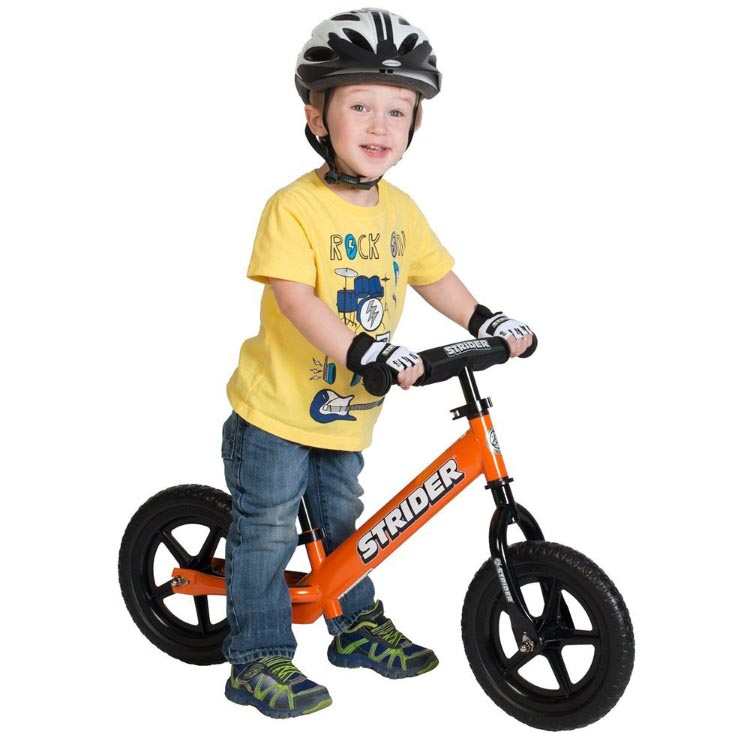 Strider balance bikes make a perfect first bike. This one is very highly rated