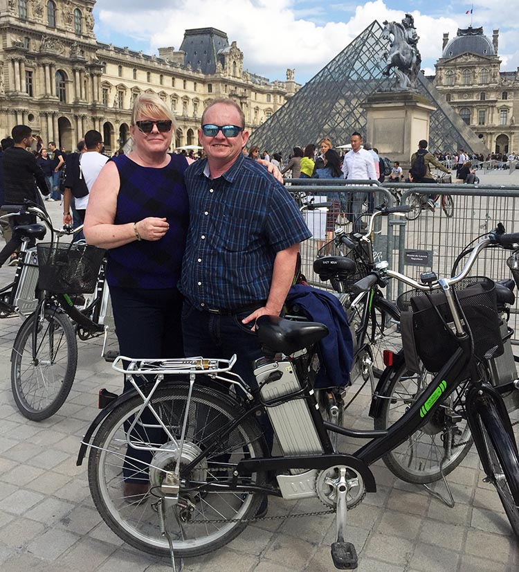 On our second day in Paris, we did a guided ebike tour – it was the best tour of the entire trip by far - you can read my review here. How to Use a Velib Bike in Paris