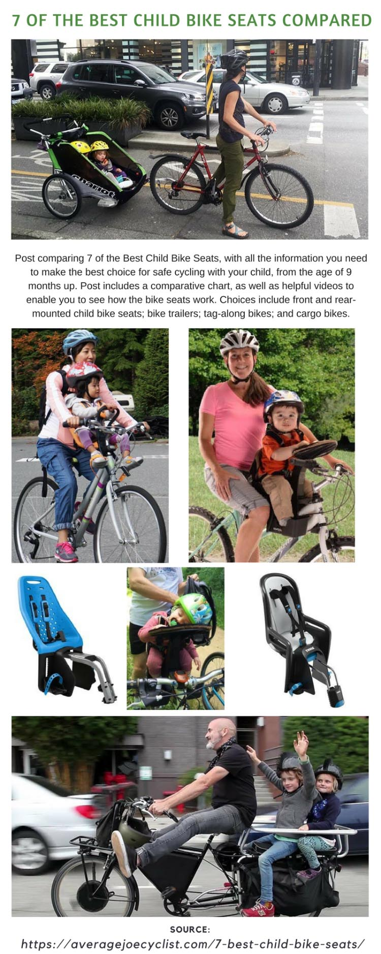 07a0ed44 7 of the Best Child Bike Seats