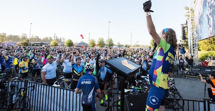 Organizers announced this morning that cyclists have raised over $8.3 million for the 9th annual Ride to Conquer Cancer