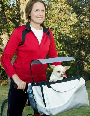 Solvit Tagalong Dog Bike Basket. 5 of the Best, Safe Dog Bike Baskets - Front, Rear, and Trailer