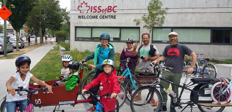 Newcomers and Refugees Discover the Joy of Cycling