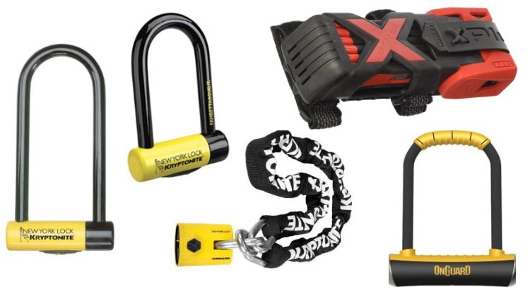 Our picks for 5 of the best bike locks. Read more below!