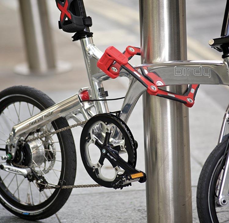 Abus Bordo Granit X Plus 6500 Foldable Lock. 5 of the best bike locks