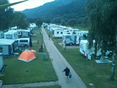 Camping by the Mosel River