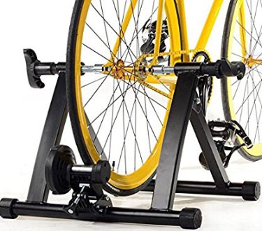 5 of the Best Indoor Bike Trainers. The Gotobuy Premium Steel Bike Bicycle Indoor Exercise Trainer Stand