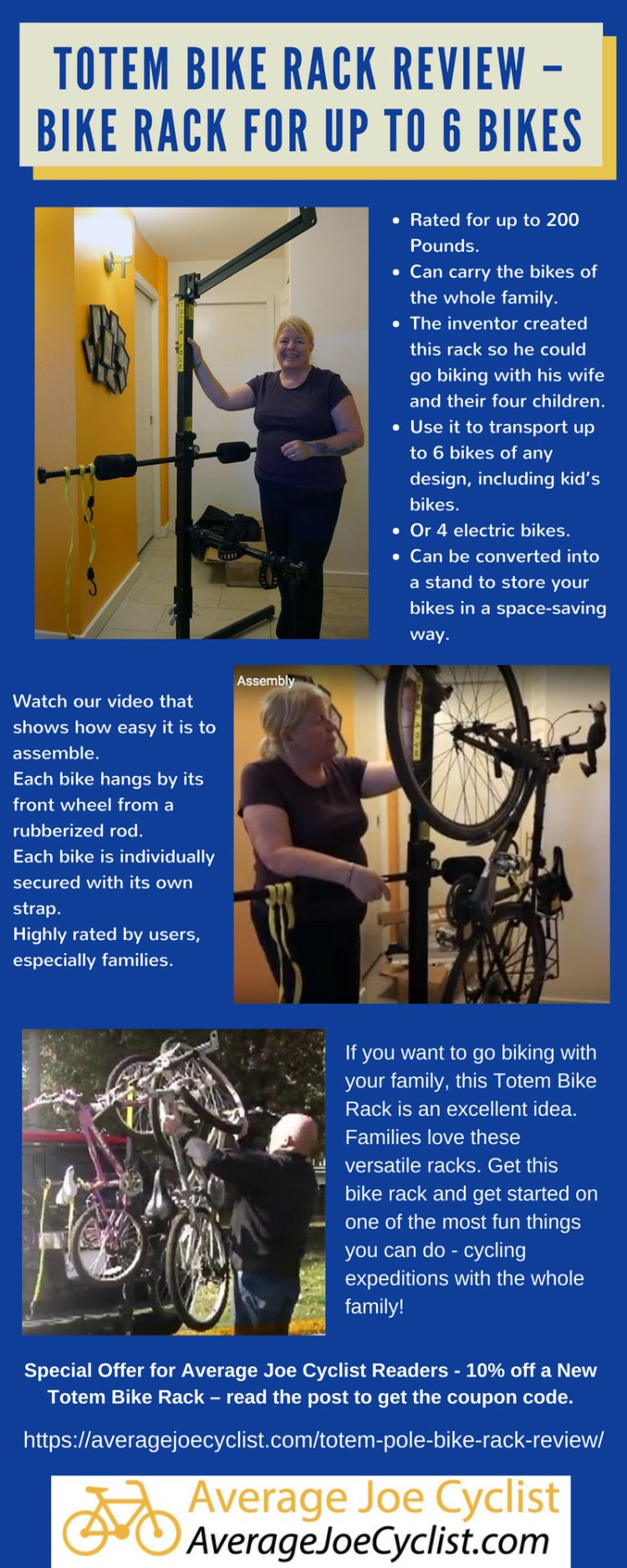 Totem Bike Rack Review - Transport up to 6 bikes