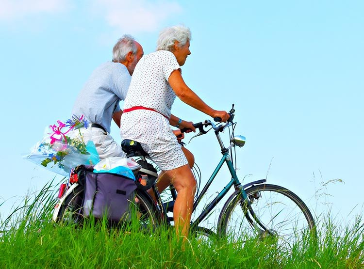 Study Shows that Interval Training on a Bike is the Best Exercise to Fight Aging. The study found the most impressive anti-aging results in older people who did high intensity interval training