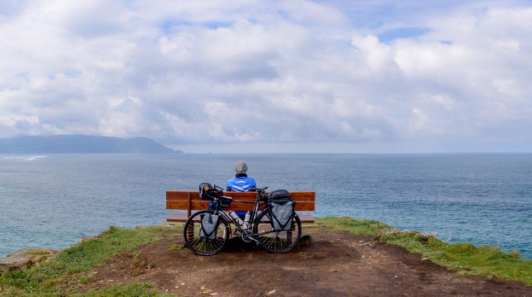 Cycling gives you ample opportunities for mindfulness, meditation, and generally being in the moment
