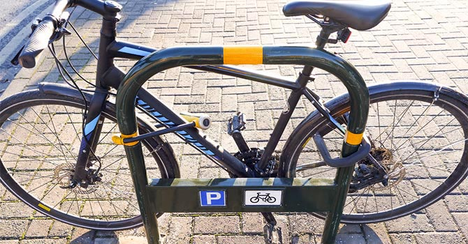 How to Protect Your Bike from Being Stolen. Two bike locks are always better than one