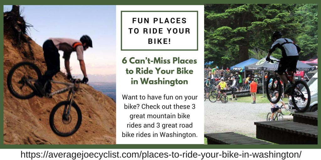 6 Can't-Miss Places to Ride Your Bike in Washington