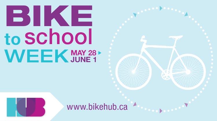 bike to school week BC is coming up
