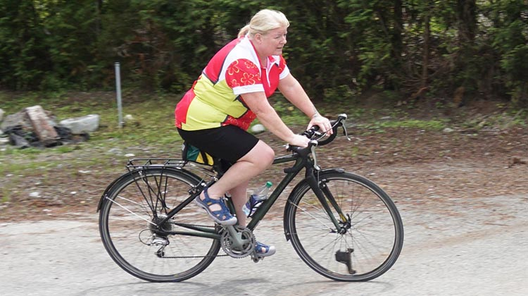 Review of Plus Sized Cycling Gear by Mrs. Average Joe Cyclist. I found this plus sized cycling gear very comfortable to cycle in