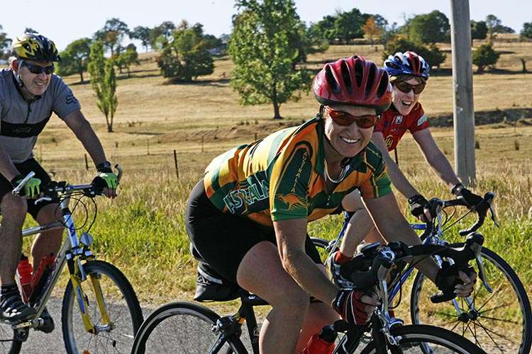 Join Australia's Biggest Bike Riding Festival: The Great Victorian Bike Ride. The Great Victorian Bike Ride is fun and a social way to see Australia. Photo credit: Bicycle Network