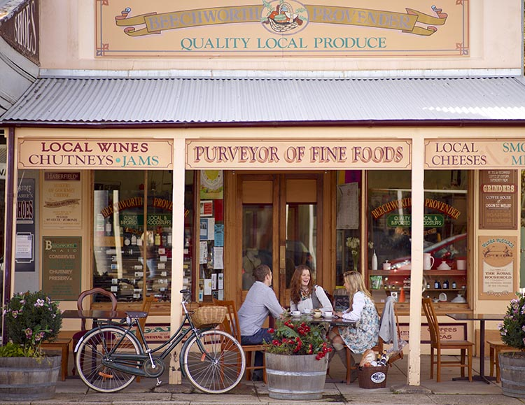 Join Australia's Biggest Bike Riding Festival: The Great Victorian Bike Ride. During the Great Victorian Bike Ride, two nights are spent in historical Beechworth and the food and wine destination Rutherglen. This photograph was taken in Beechworth
