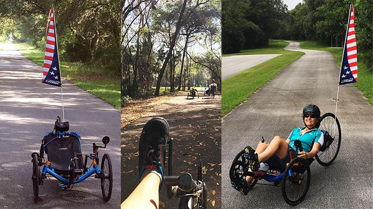 7 tips for Recumbent Trike Riders.