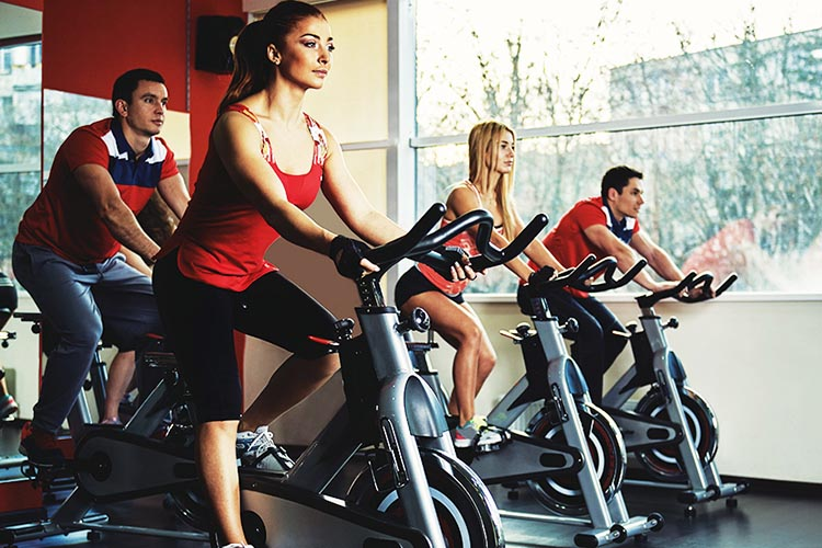 The Art of Biking without Biking: A Guide to Stationary Bikes. You can use spin bikes in a class - or in the privacy of your own home!
