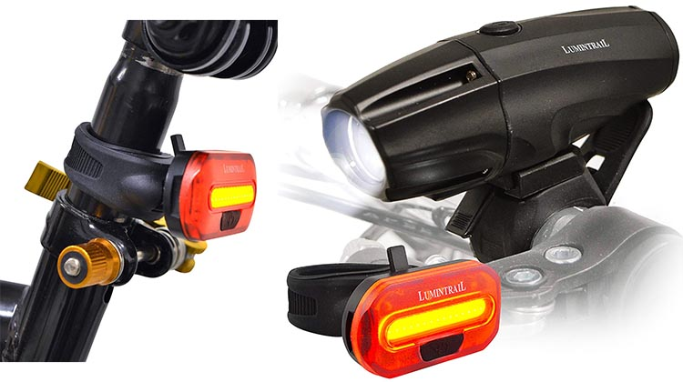 Great Price on Lumintrail Bike Light Set Right Now