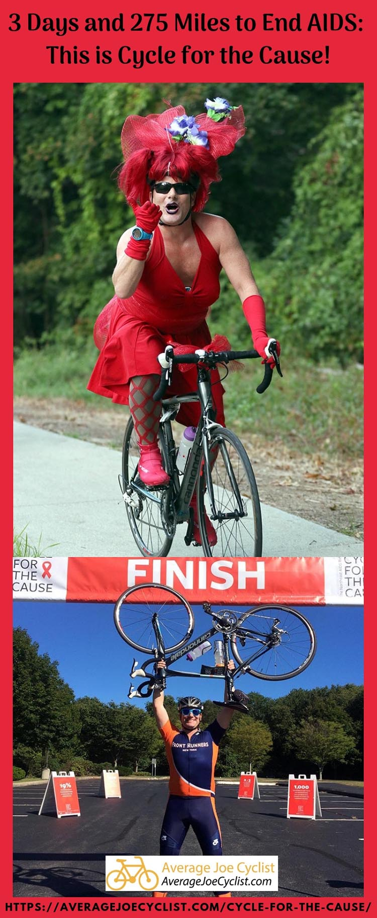 3 Days and 275 Miles to End AIDS: This is Cycle for the Cause. Photo Credit: Inspired Storytellers