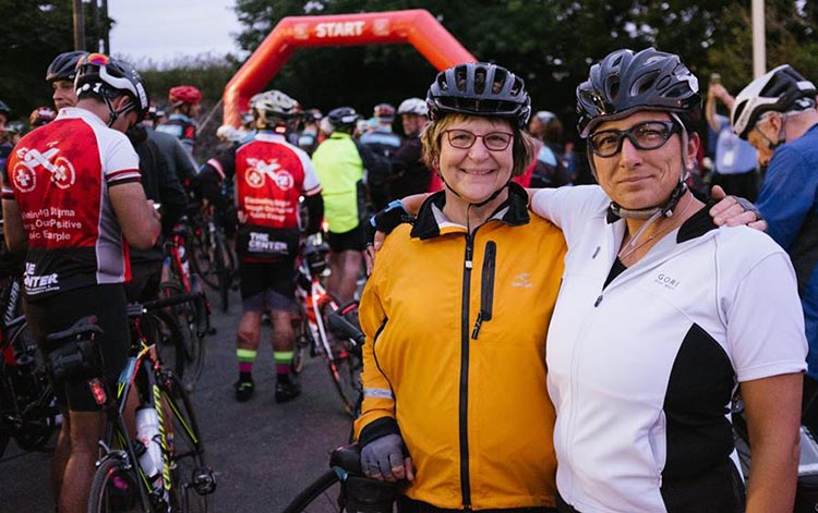 Ready to ride! Photograph by Inspired Storytellers. Cycle for the Cause 2018