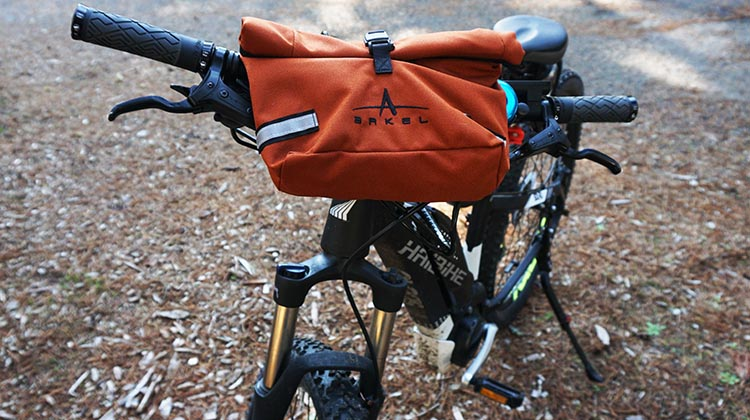 Review of the New Arkel Signature BB Waterproof Handlebar Bag.