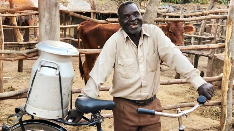 Bikes in Africa can transform people's lives. Photo credit: World Bicycle Relief
