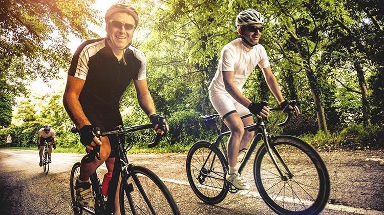 Study shows stress busting impact of cycling