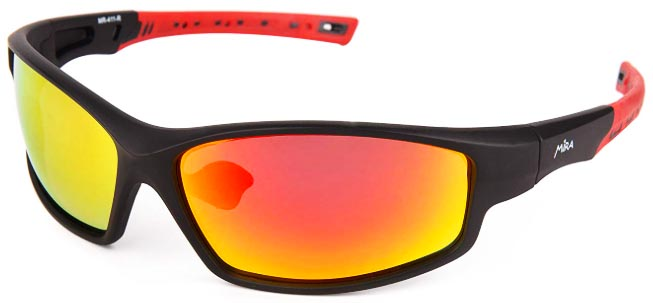 Best Budget Cycling Sunglasses under $30 - Mira Sports Sunglasses - Review and Video. Mira Fusion Y Budget Cycling Sunglasses
